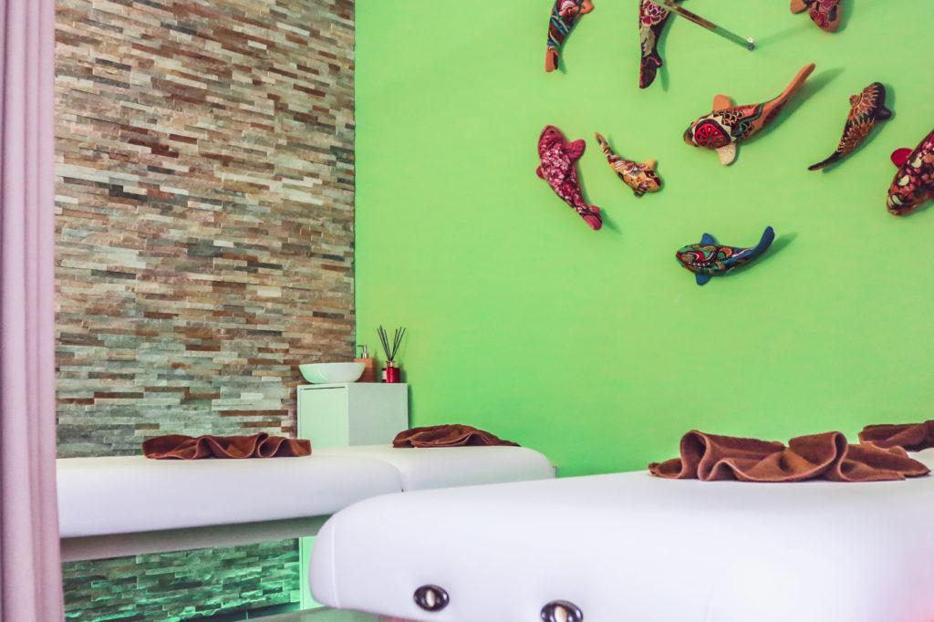 vue générale du salon de massage chanida à Vevey